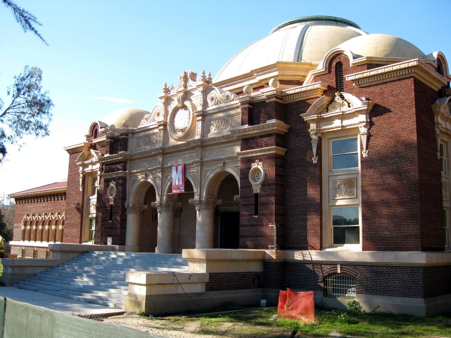 Its Distinctive Main Building