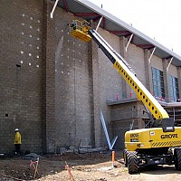 Cleaning of all types of masonry surfaces